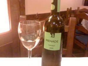 local white Spanish wine