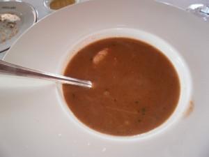 Sopa de pescado al estilo Donostiarra