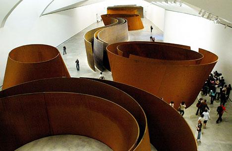 Richard Serra's a Matter of Time
